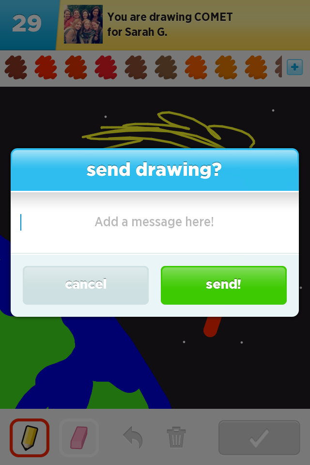 Draw Something Slide Show
